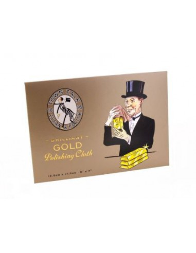 Gamuza para Limpiar Oro