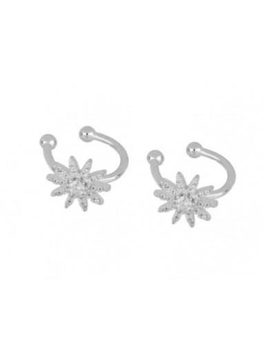 Ear cuff Estrella 10 Puntas Circonitas