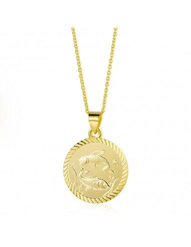 Collar Medalla Signos del Zodíaco