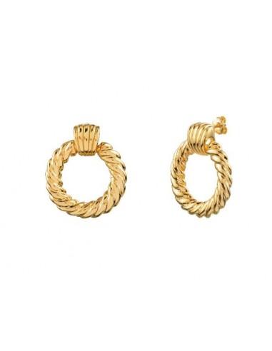 Pendientes Argolla XL Oro