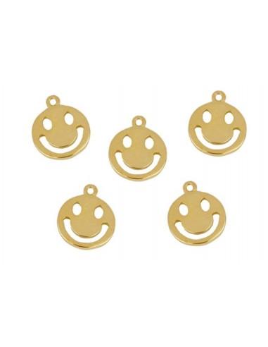 Charm Colgante Smile Oro