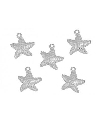 Charm Colgante Estrella de Mar Plata