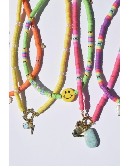 Collar Colores y Smile Grande