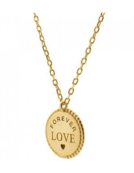gargantilla medalla forever love