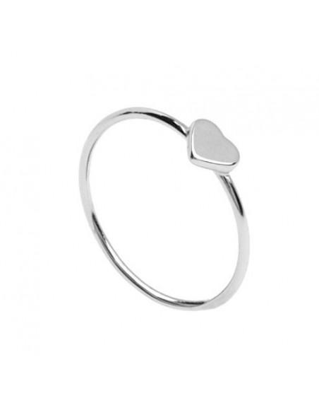 anillo corazón pequeño