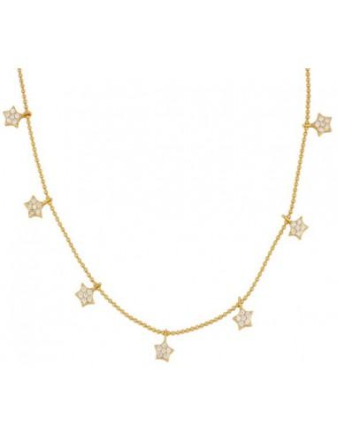 Gargantilla 7 Estrellas con Circonitas