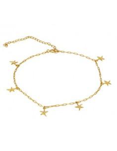 Tobillera 6 Estrellas de Mar