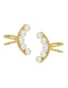 Ear Cuff 5 Perlas